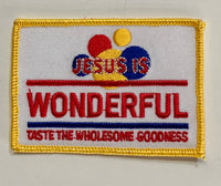Wonderful-Embroidered Patch