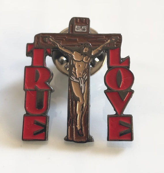 True Love- Vintage Hard Enamel Pin