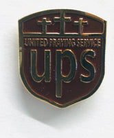 Answered Prayers (UPS edition)- Vintage Hard Enamel Pin