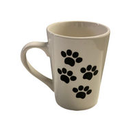 I love... (Jez Edition)- White Tapered Stoneware Mugs, 14 oz.