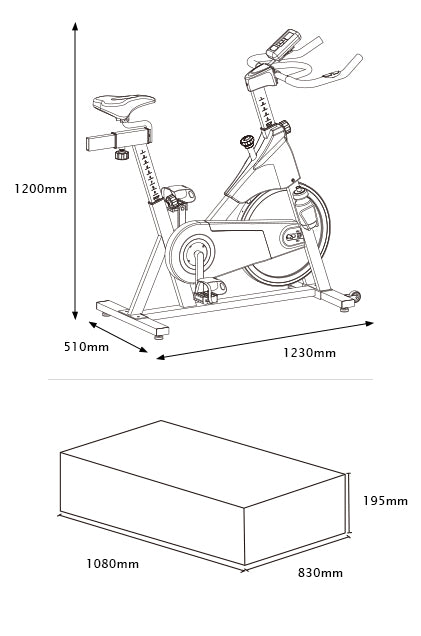 SM400_dimension_mobile?14383149145299290478 commercial spin bike lifespan sm400 exercise fitness home gym