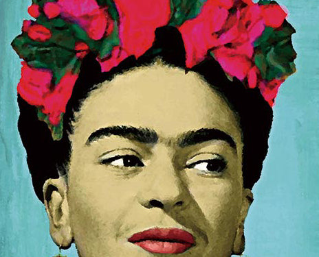 Frida Kahlo Canvas - Raw Deco Lab