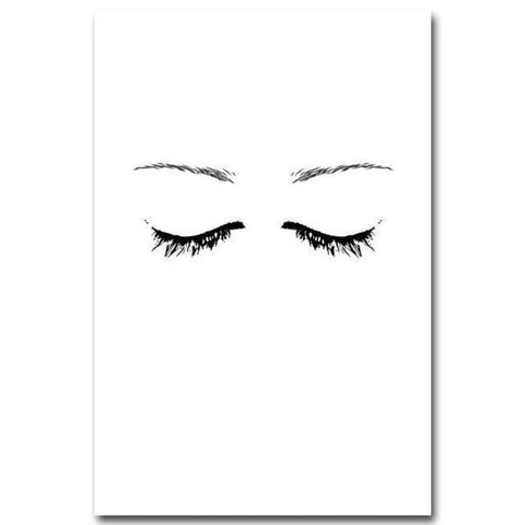 Eyes Of The Soul Canvas - Raw Deco Lab