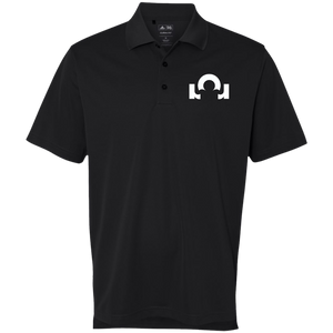 Adidas Golf ClimaLite Basic Performance Pique Polo: What Are You Made Of? White Logo