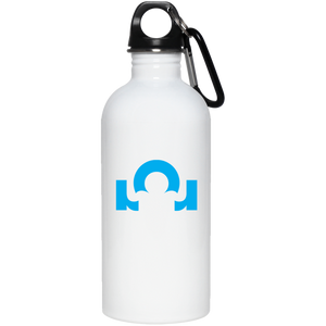 20 oz. Stainless Steel Water Bottle What Are You Made Of? Blue Logo