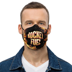 Premium face mask: Rocket Fuel Lifestyle Fire