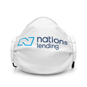 Premium face mask: NATIONS LENDING