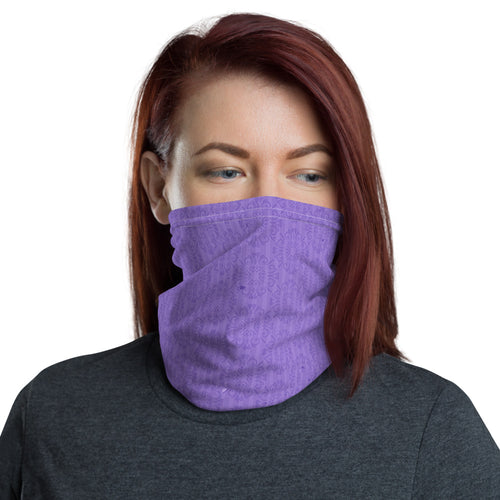 Neck Gaiter: Purple Masks