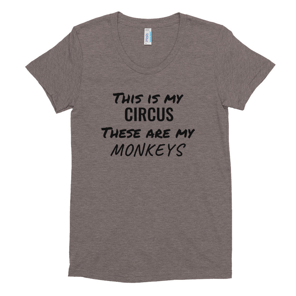 Women's Crew Neck T-shirt: MY CIRCUS