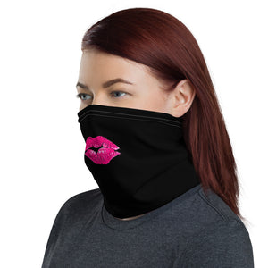 Neck Gaiter: Masks Kiss Lips
