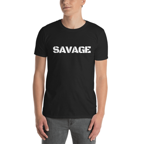 Short-Sleeve Unisex T-Shirt: SAVAGE