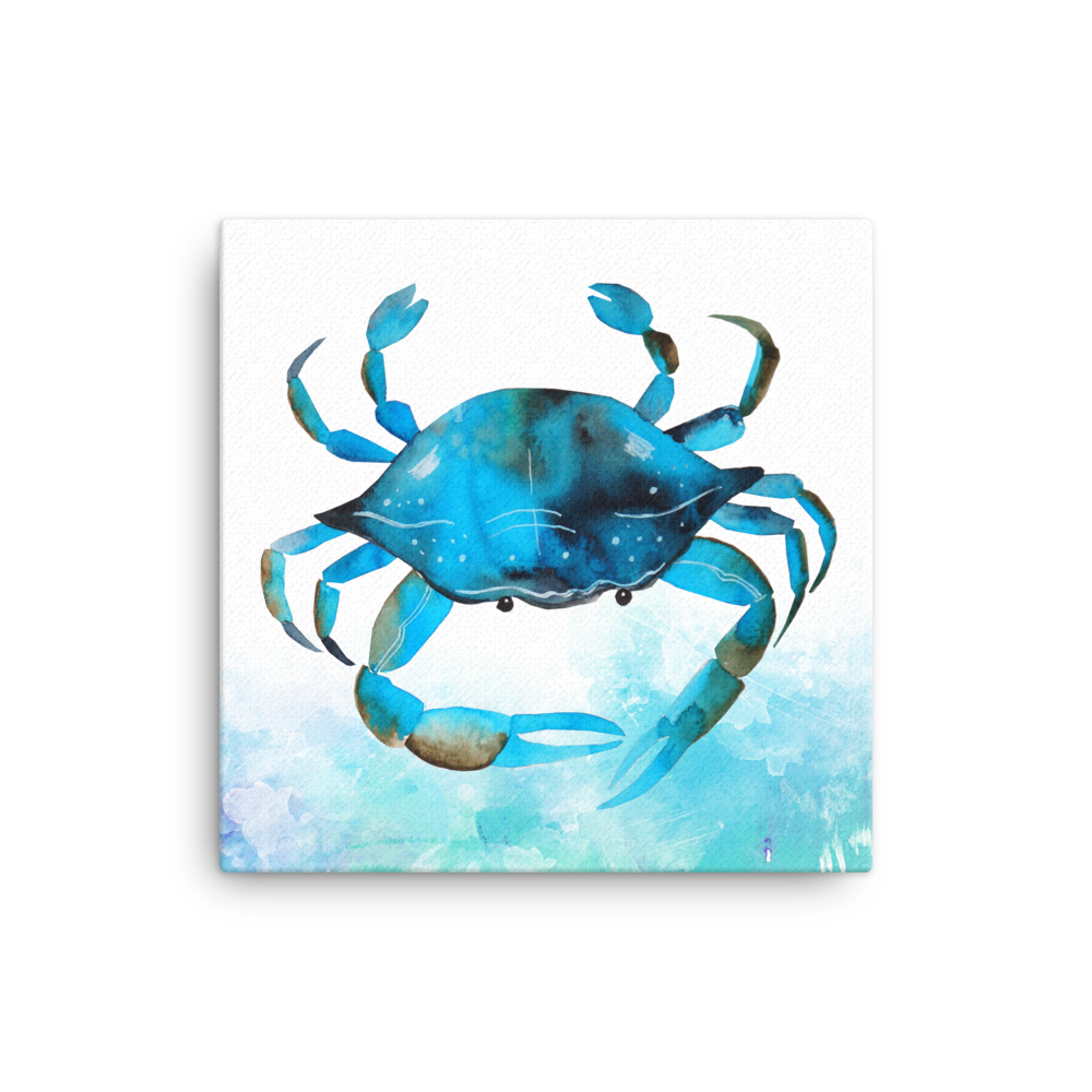 Canvas: Blue Crab