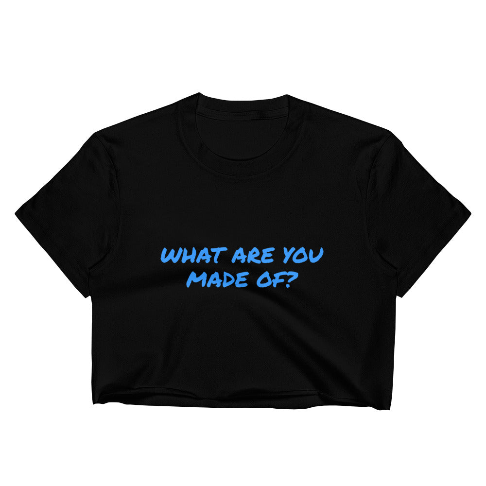 Women's Crop Top: What Are You Made Of?