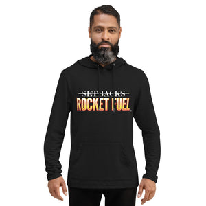 Unisex Lightweight Hoodie: SETBACKS ROCKET FUEL