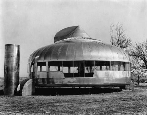 Richard Buckminster Fuller, Dymaxion House, conceived and designed in the late 1920's, built in 1945