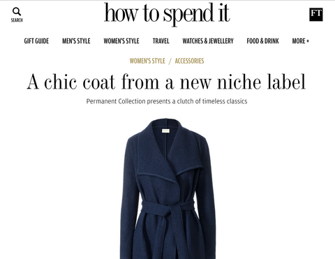 The Financial Times – How to Spend it