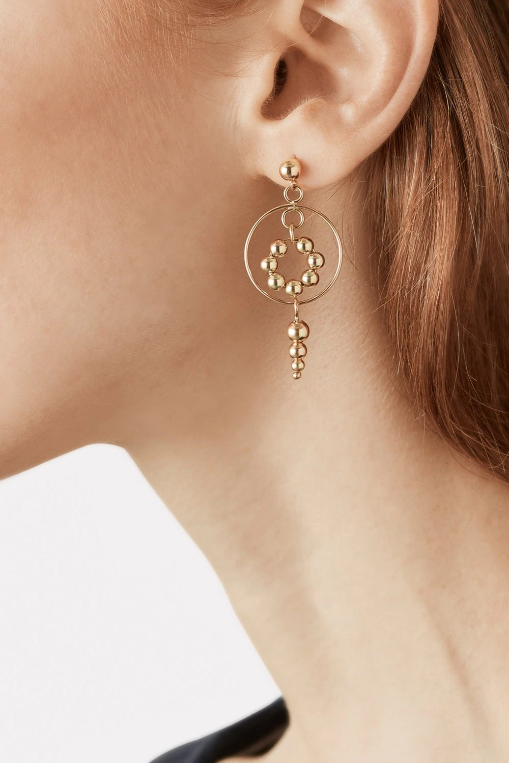 SOLAR CIRCLE EARRINGS