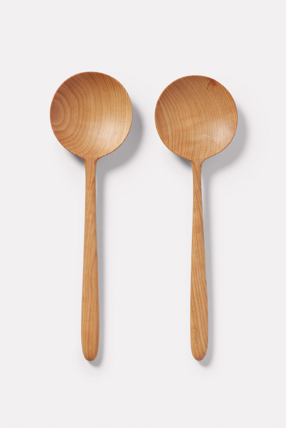 Wooden Salad Server - Pear