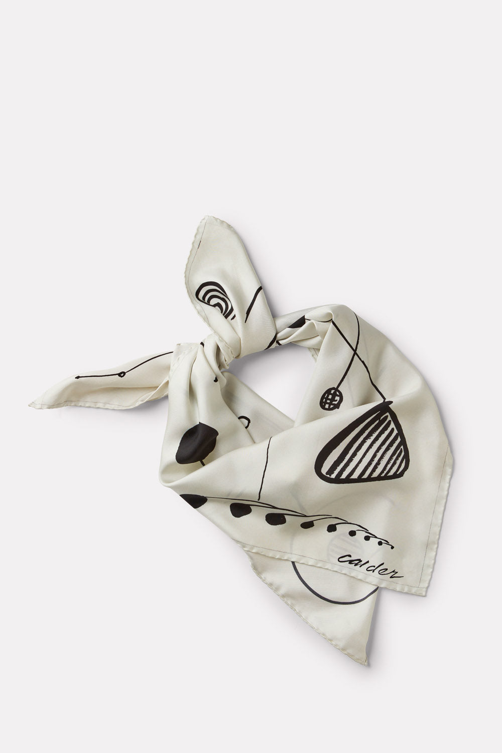 Calder Silk Scarf - Untitled