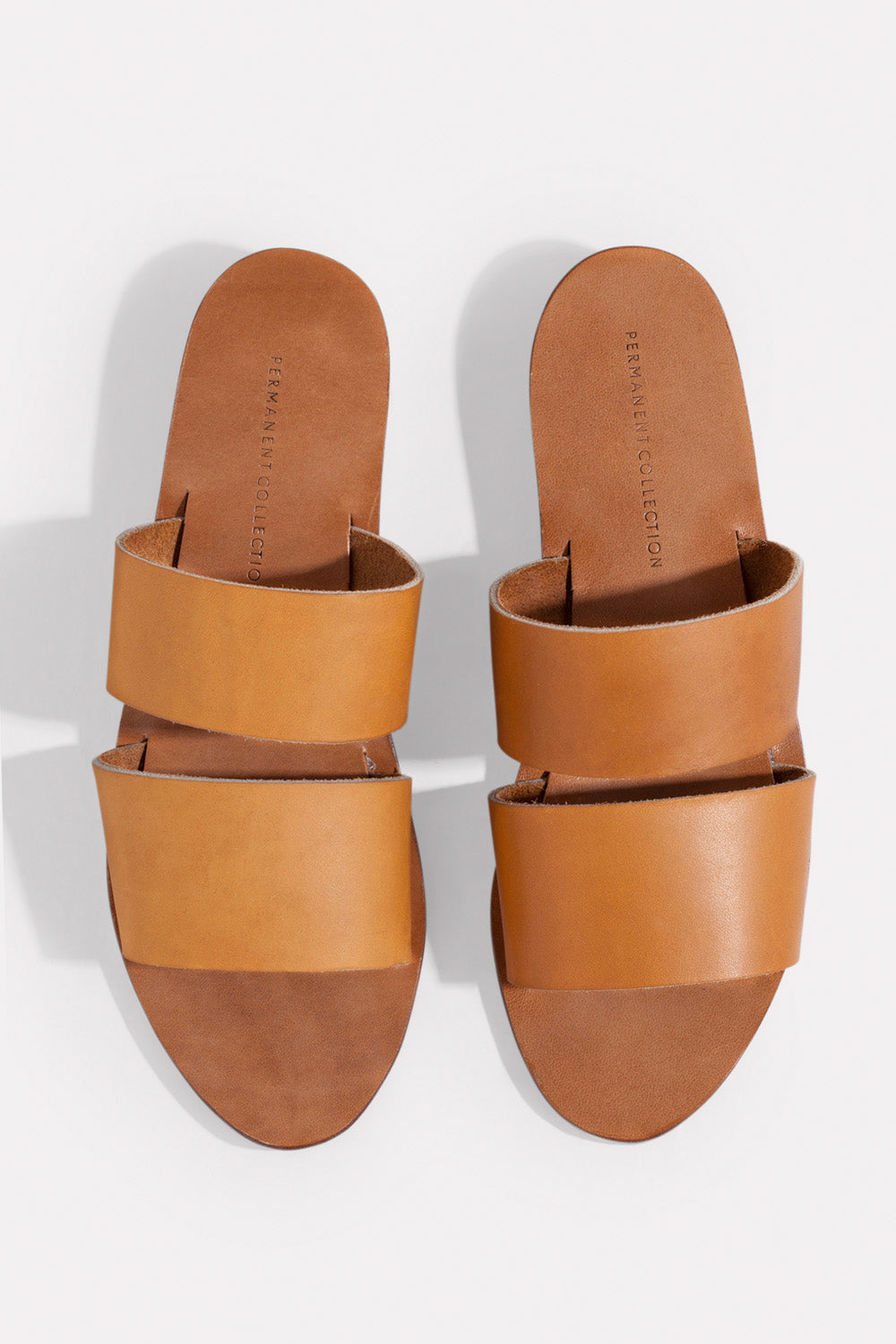 Permanent Collection Brown Pia Sandals 1