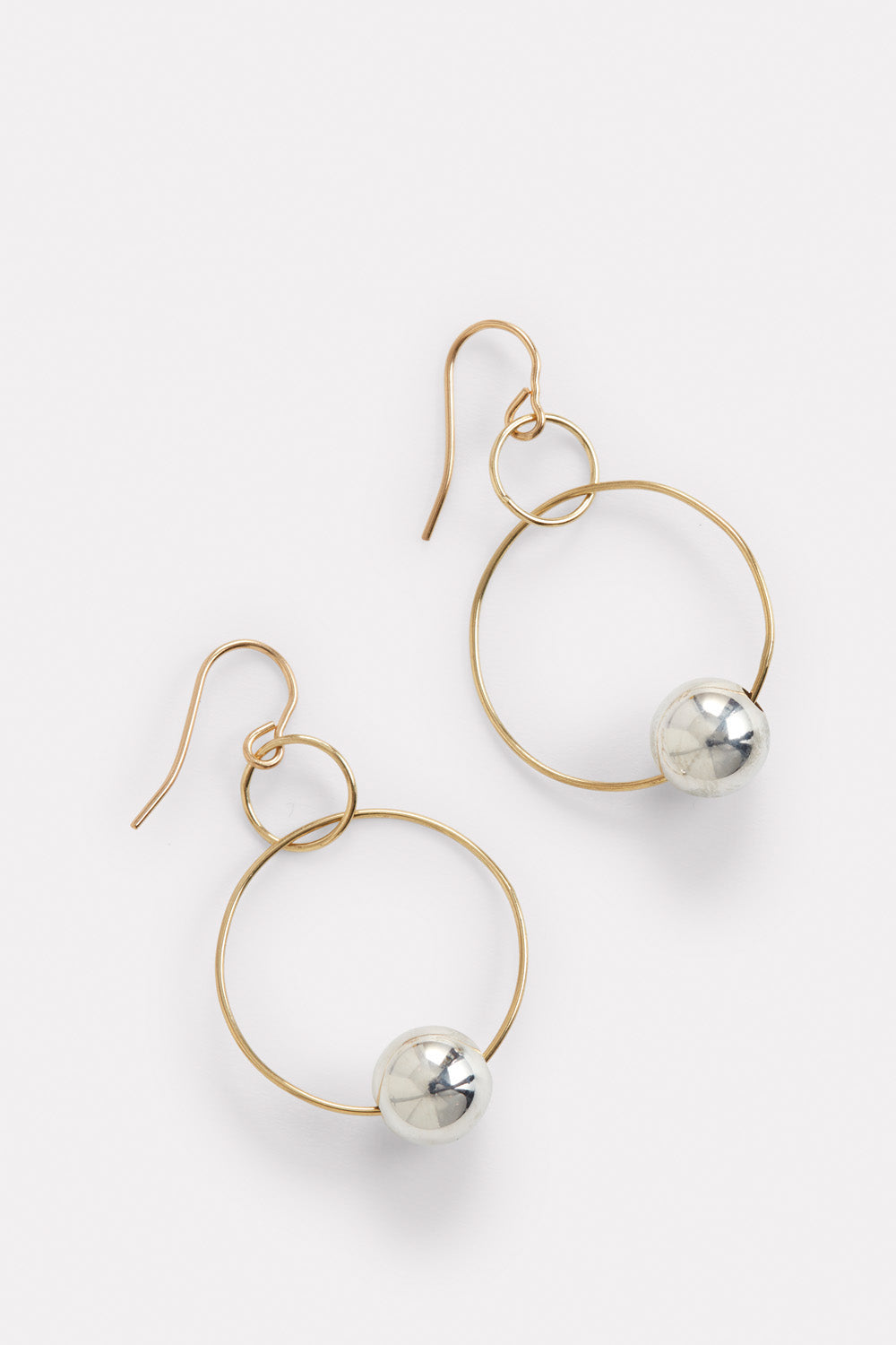 PermanentCollection - Blunk Double Hoop Gold:Silver 1