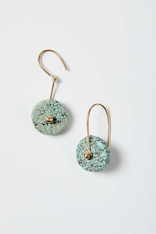 Blunk Disc Earrings