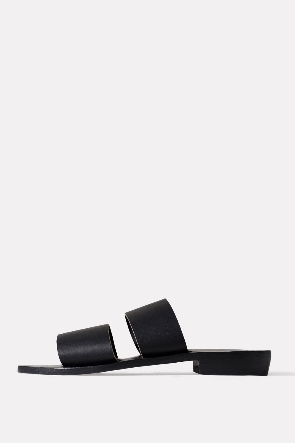 Permanent Collection Black Pia Sandals 1
