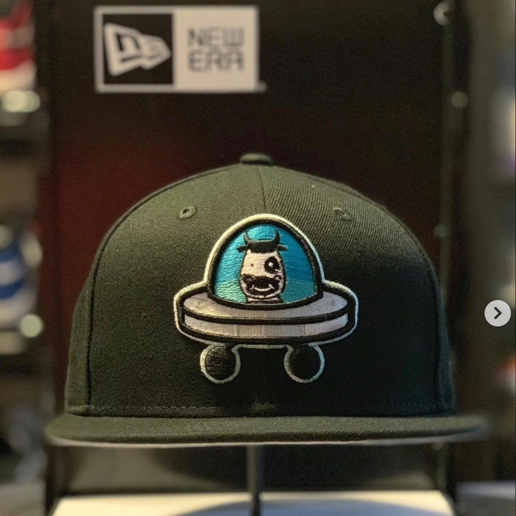 New Era x MILK - Space Cowboy OG 5950 Fitted - Grey Bottom