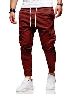 Men Pants New Fashion Casual  Jogger Pants  Fitness Bodybuilding Gyms Pants Sweatpants Trousers
