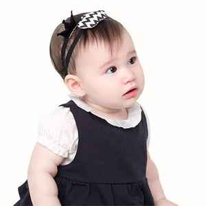 Princess  Girl Head Accessories Kids Cute Hairband  Elastic Crown Silver Black Headwear #LSN