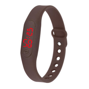Mens woman sport watches 2017 Silicone ladies digital watch LED Watch Date men Bracelet Digital sport watches for women