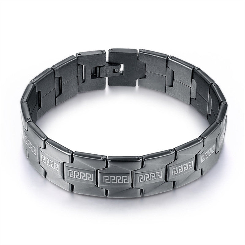 Special Stainless Steel Bracelet Link Fashion Chain Bangle for Men Wrist Decoration
