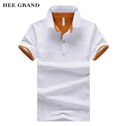 HEE GRAND 2018 New Arrival Men Summer Polo Shirt Turn-Down Collar Cotton Breathable Material Male Casual Polo Shirts MTP437