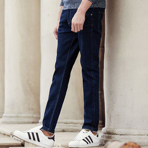 Pioneer Camp New casual jeans men brand clothing fashion solid denim trousers male top quality slim fit denim pants ANZ703098