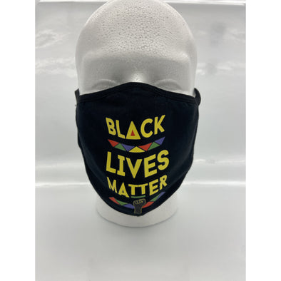 Black Lives Matter (Mask) - Apparel By Bootleg Exclusive Design!