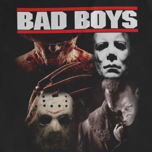 Bad Boys of Horror - T-shirt (Black)