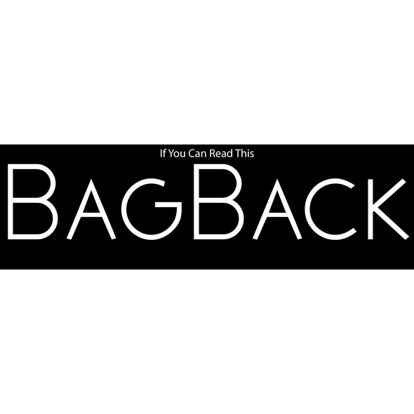 BagBack - Apparel By Bootleg Exclusive Design!