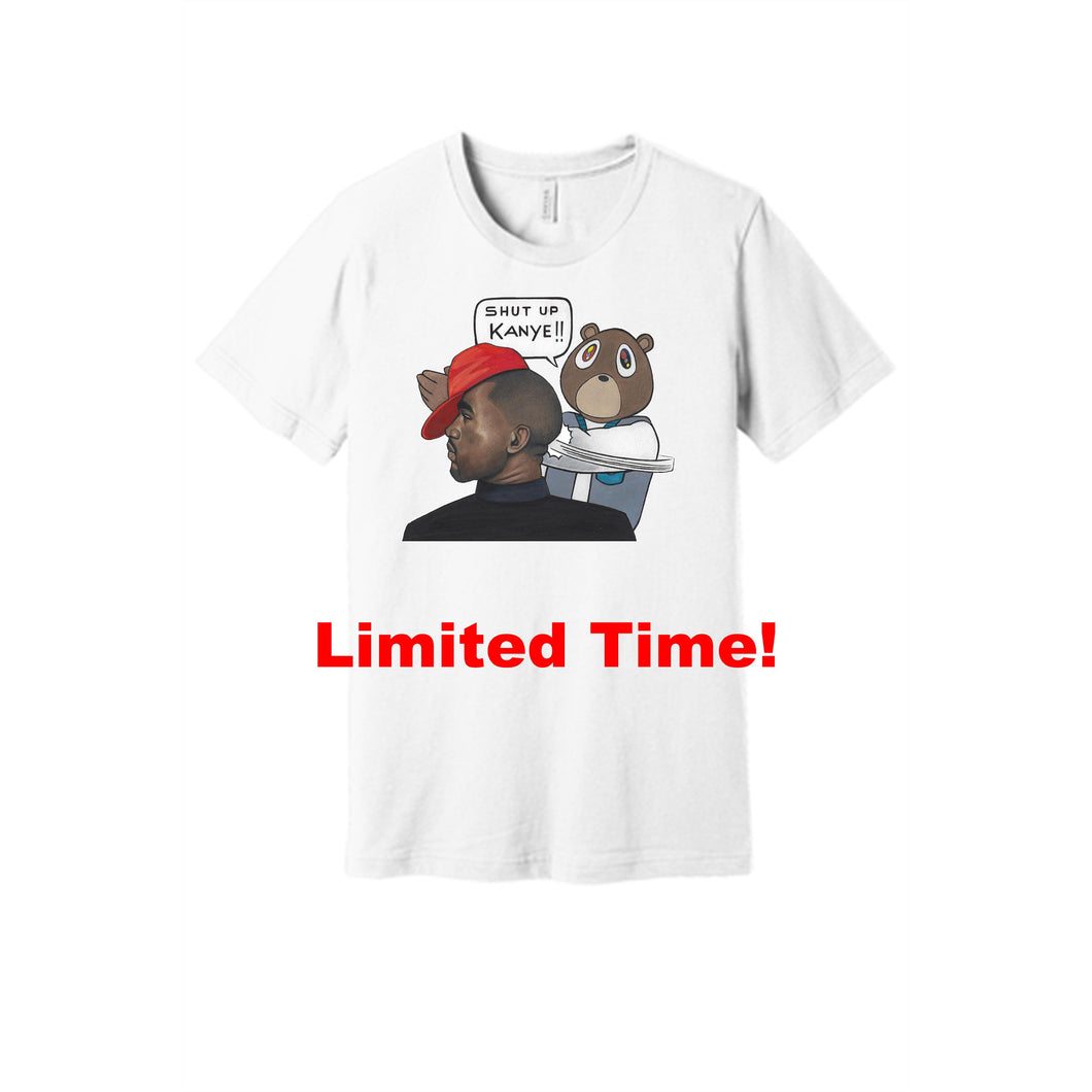 Shut Up Kanye - T-Shirt (White)