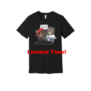 Shut Up Kanye - T-Shirt (Black)