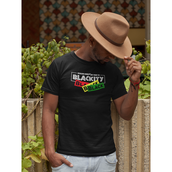 Blackity Black (T-Shirt) - Apparel By Bootleg Exclusive Design!