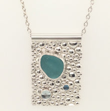 Sea Glass and Bubbles Necklace