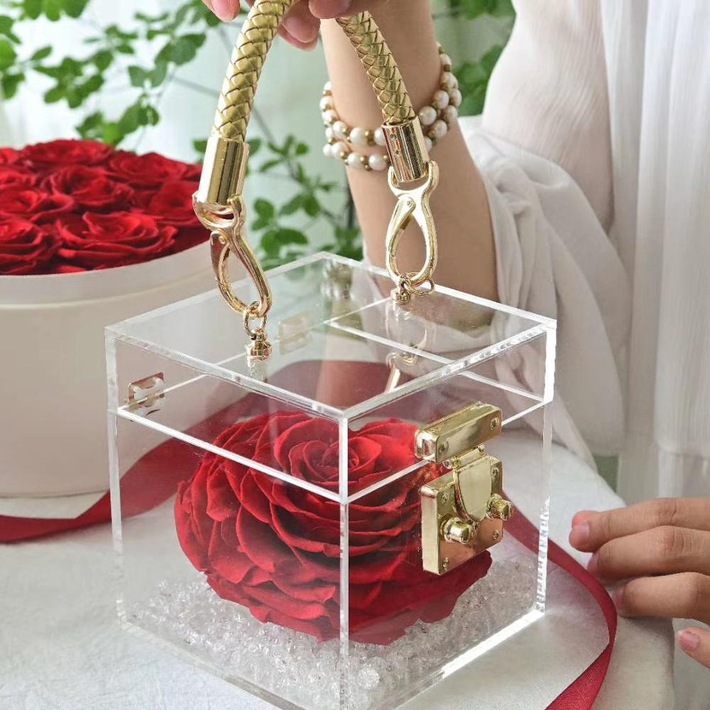 Love Lock Acrylic Box