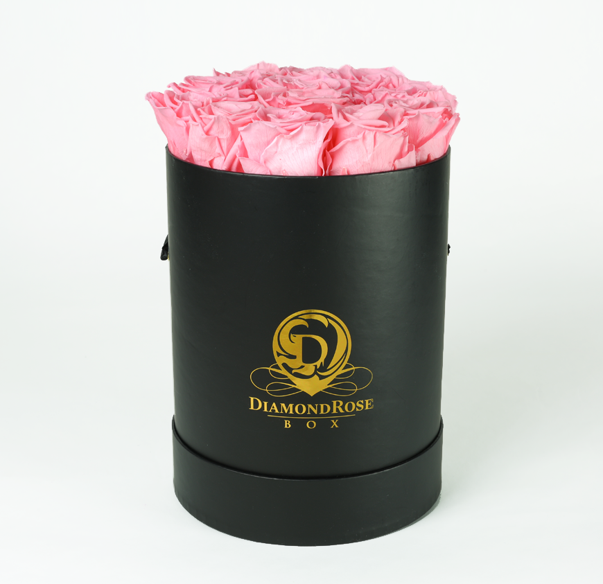 The Round Brilliant Rose Box
