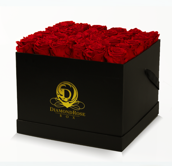 The Radiant Large Box of Roses