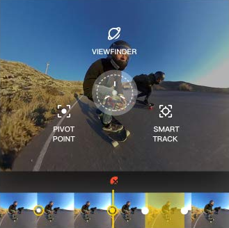 Insta360 ONE Action Camera Shoot First, Point Later