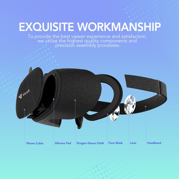 VeeR Fabric VR Headset Exquisite Workmanship