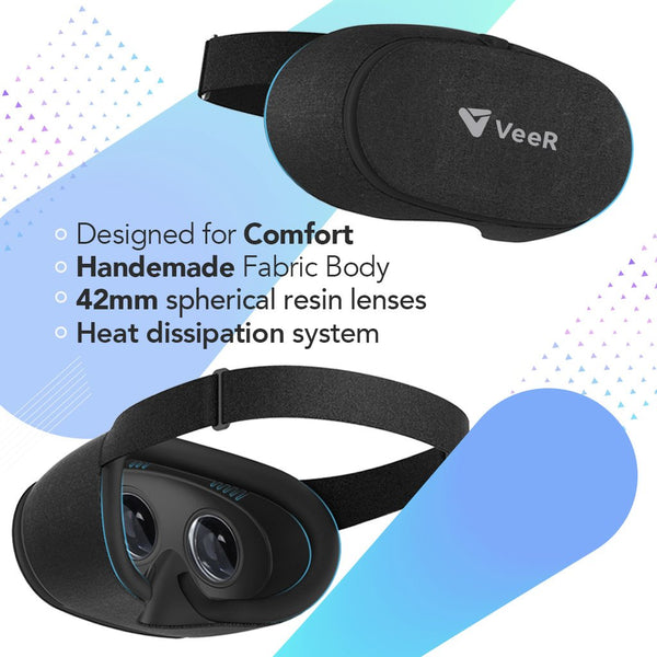 VeeR Fabric VR Headset Comfort Design