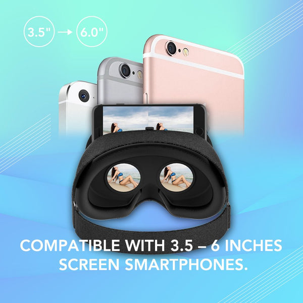VeeR Fabric VR Headset Compatible with Smartphones