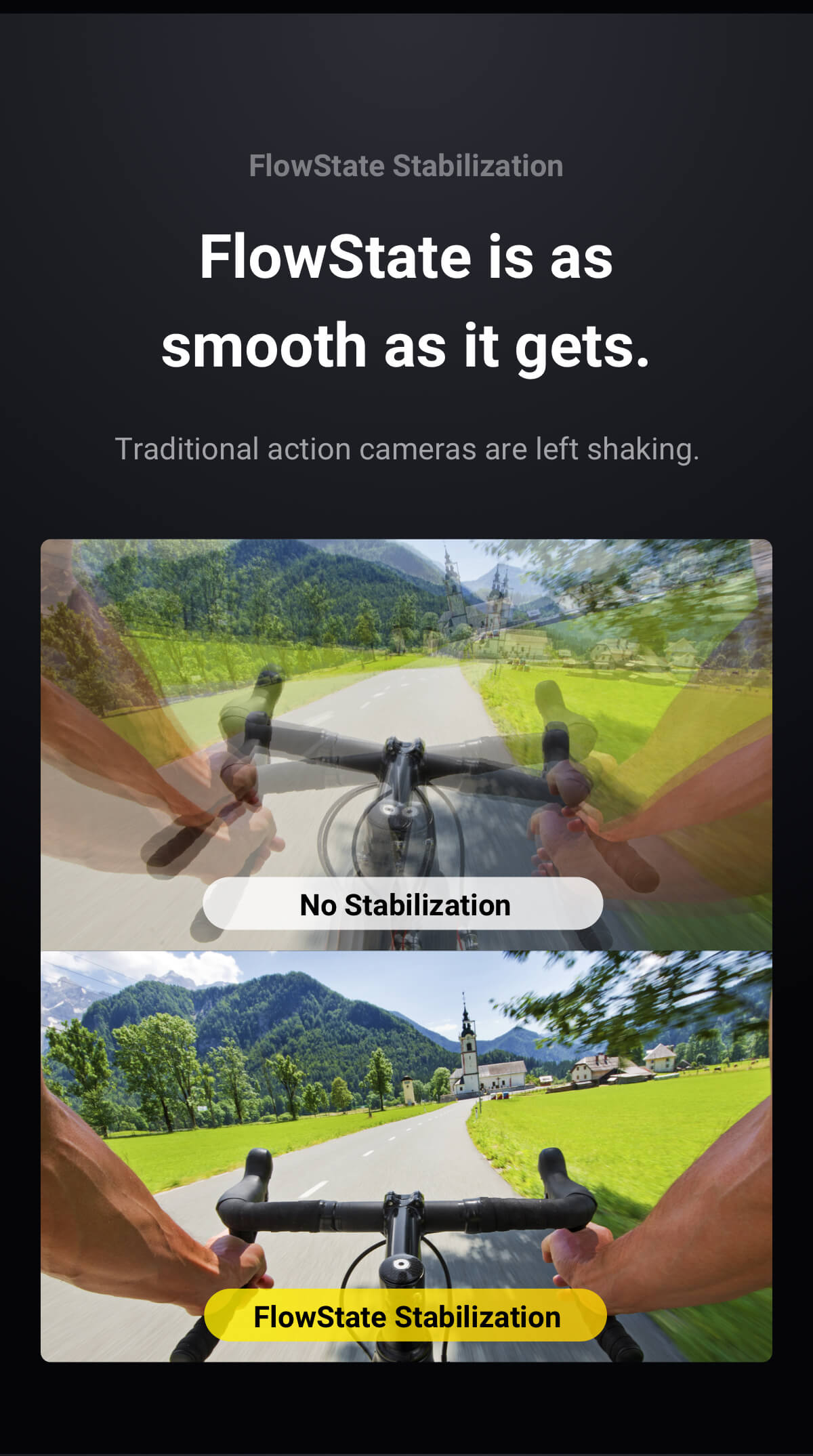 Insta360 One X FlowState Stabilization