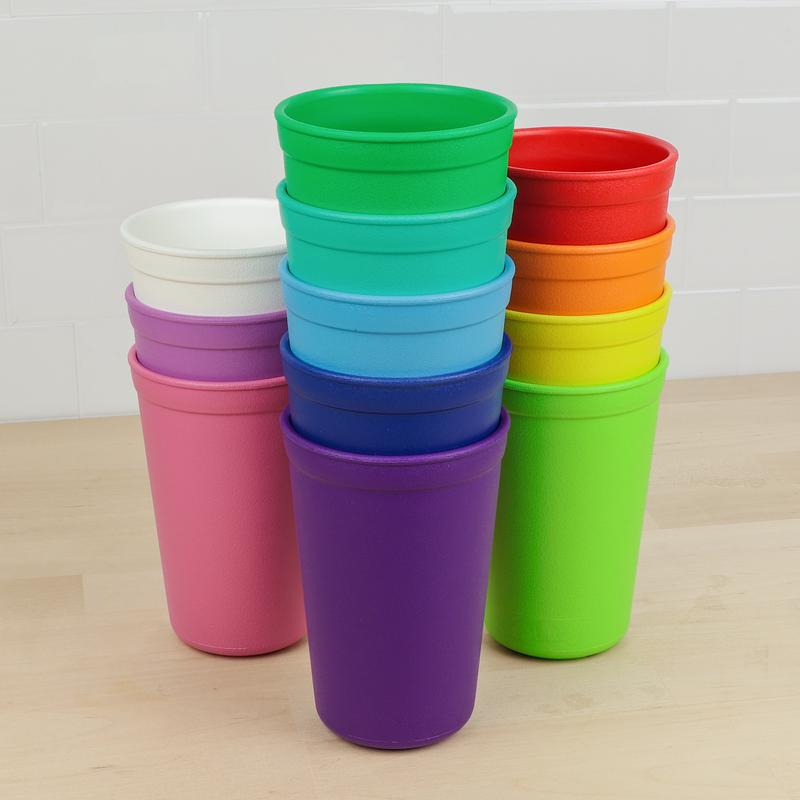 12 pack 10 oz Drinking Cup Rainbow Collection